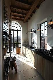 Ideas For A Galley Kitchen Best 25 Rustic Galley Kitchen Ideas On Pinterest Farm Kitchen