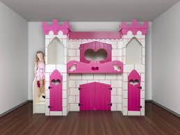 Princess Castle Bunk Bed Castle Bunk Bed With Slide Plans Pictures Reference