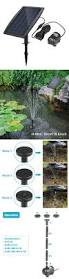 outdoor fountains 20507 solar power outdoor fountain water pump