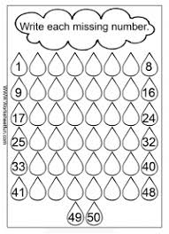 missing numbers u2013 1 50 u2013 three worksheets free printable