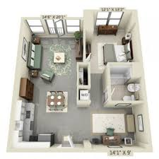 apartment layout ideas lovely brilliant 1 bedroom efficiency apartments best 25 studio