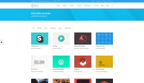 flexible u0026 filterable wordpress portfolio theme divi