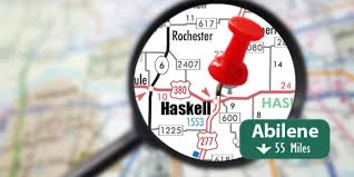 Haskell Map Haskell County Commissioners To Discuss Jail Inmates