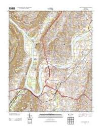 map of chattanooga tn usgs us topo 7 5 minute map for chattanooga tn 2013 data gov