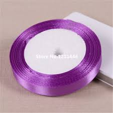 purple satin ribbon popular purple satin ribbon buy cheap purple satin ribbon lots
