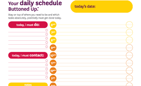 printable daily schedule tool free printable daily schedule form buttoned up