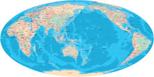 World Continents And Oceans Map by Globes Satellite Images Of Planet Earth