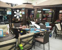 Big Lots Wicker Patio Furniture - outdoor woven wicker gazebo the chronicles of home