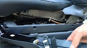 power seat repair 2006 honda pilot u0026 odyssey youtube