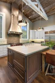 kitchen design inspiration white l shape cabinet island marble