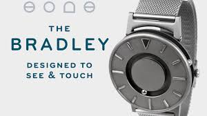 the bradley a timepiece designed to touch and see by eone