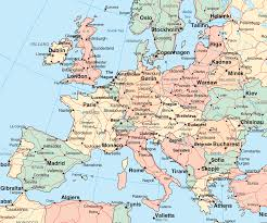 Europe Map Capitals by Europe Map With Cities And Capitals Image Galleries