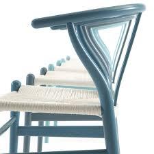 Hansen Patio Furniture by Wishbone Chair With White Cord Seat Carl Hansen U0026 Son