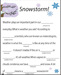 ideas of winter mad libs worksheets in letter template
