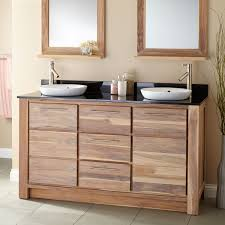 Home Decor Vanity Simple Teak Bathroom Vanity Home Design Great Creative With Teak