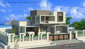 Home Design For 2200 Sq Ft Modern Contemporary 4 Bedroom Kerala Home In 2200 Sq Ft For 40