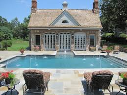 house with pool atlanta pool builder custom pool houses pavilions photos