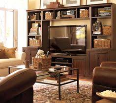 Pottery Barn Benchwright Media Logan Media Suite With Bridge Potterybarn Love This I Would Like