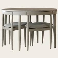 Round Table With Hidden Chairs Google Search Furniture - Dining table with hidden chairs
