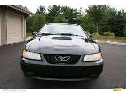 2000 Ford Mustang Black 2000 Black Ford Mustang Gt Convertible 31536738 Photo 2