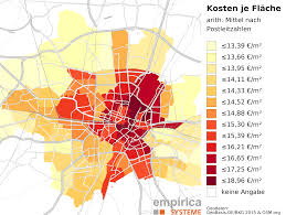 Map Of Munich Germany by Rent Maps For Germany Empirica Systeme Gmbh