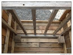 meuble fait en palette construire un composteur gratuit en bois de palette se preparer