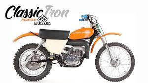 most expensive motocross bike classic motocross iron 1975 harley davidson mx 250 motocross action