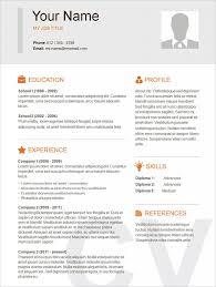 free sample resumes resume template basic free frizzigame simple resume sample sample resume and free resume templates