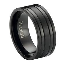 mens black titanium wedding rings black titanium men s wedding ring modern bands 8mm