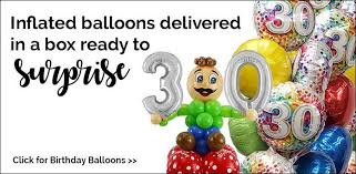 inflated balloon delivery helium balloons delivery fully boxed inflated