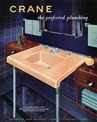 Crane Bathroom Fixtures A Tale Of Two Sinks Retro Ranch