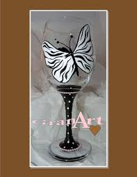 painted wine glass by granart hometalk