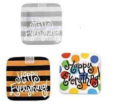 coton colors happy everything platter coton colors happy everything mini platter ebay