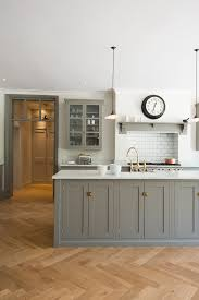 Grey Shaker Kitchen Cabinets by I Love The Idea Of Having A Big Island In The Middle It Creates