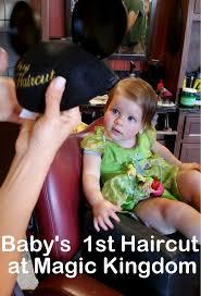baby u0027s 1st haircut at magic kingdom