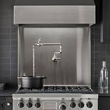 the kitchen collection kohler 99270 cp artifacts single wall mount pot filler