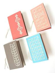 Notebook Cover Decoration Notebooks With Stitched Covers How Did You Make This Small