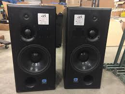 Acoustic Sound Design Home Speaker Experts Atc Scm100 3 Way Powered Studio Monitors Professional Audio