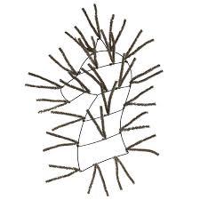 wreath forms pencil wreath form burlap