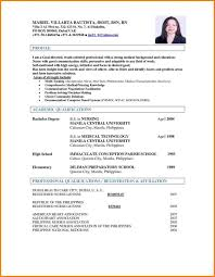 resume format 2017 philippines sle of resume format in philippines tell the truth essay