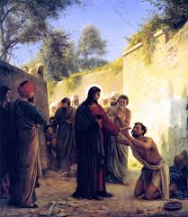 Was Bartimaeus Born Blind File Healing Of The Blind Man By Jesus Christ Jpg Wikimedia Commons