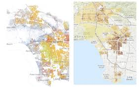 Map Of Gang Territories In Los Angeles by Parks And Privilege Public Health Post