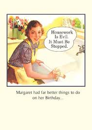 funny vintage birthday cards bing images checklist on cleaning