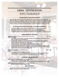 Cover Letter For Interior Designer Gallery Cover Letter Ideas by Interior Design Resume Sample Experience Resumes
