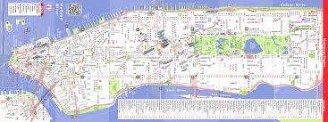 map of new york city with tourist attractions map new york city nyc usa maps and directions at