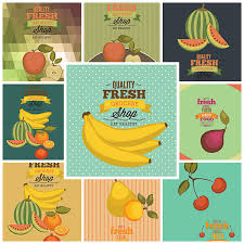 vegetables u0026 fruits shop templates vector free download
