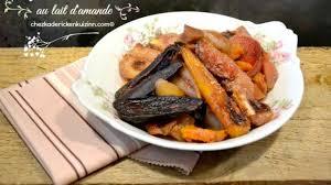 cuisiner les l馮umes anciens légumes anciens rotis dans du lait d amande bio recette par kaderick