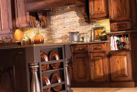 rustic cherry cabinets houzz