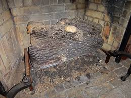 vintage fireplace vermiculite