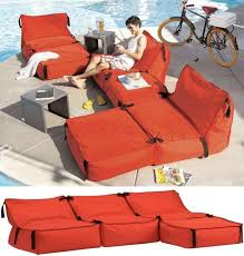 bean bag couches tie 1 on